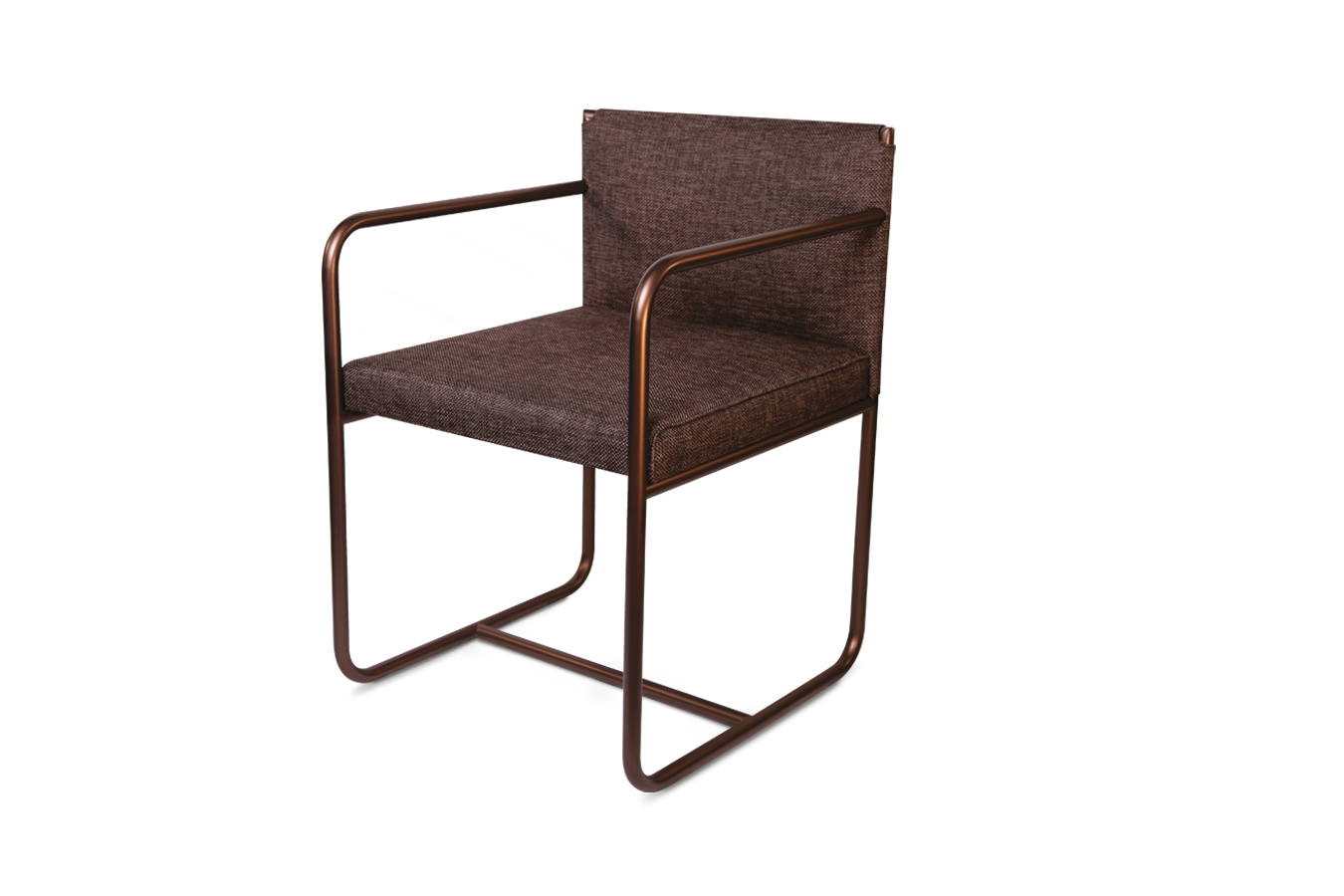 mindly dehomecratic brown chair